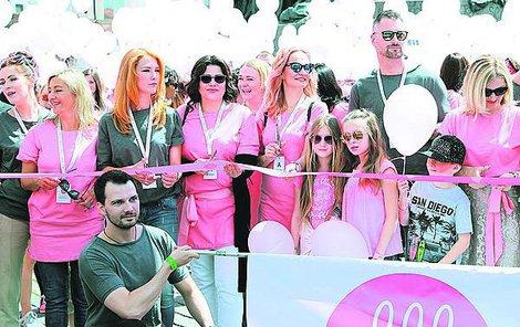V čele pochodu proti rakovině slavné osobnosti