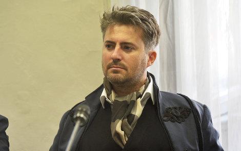 Motorkář Filip Crhák.