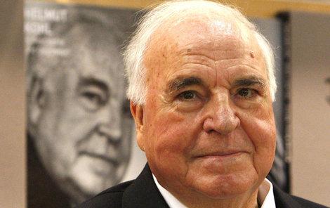 Bývalý německý kancléř Kohl.