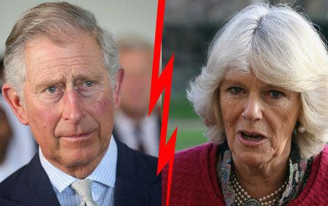 Manželství Charlese a Camilly spěje ke konci.