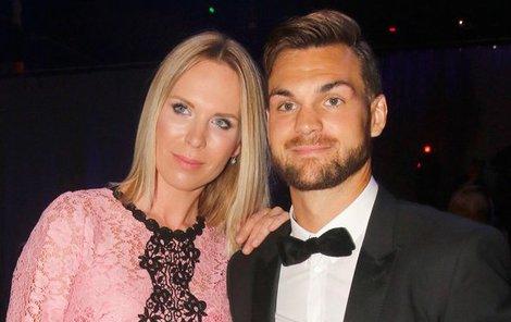 Diana Kobzanová s přítelem Michaelem Frolíkem se těší z druhého potomka.