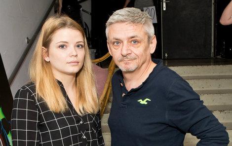 Na konkurzu byla Seuchánková i se svým tátou.