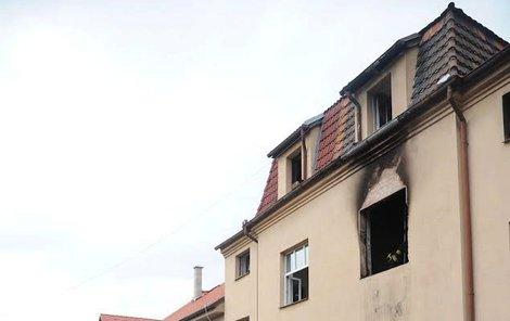 Požár způsobila závada na elektrospotřebiči. Škoda je asi 1,5 milionu.