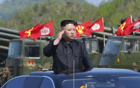 Diktátor Kim Čong-un