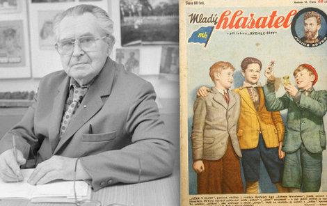 110. výročí narození slavného spisovatele Jaroslava Foglara.