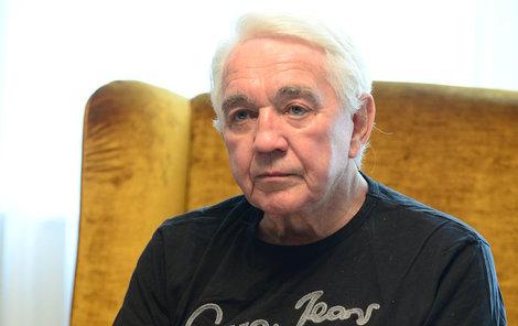 Jiří Krampol truchlí.