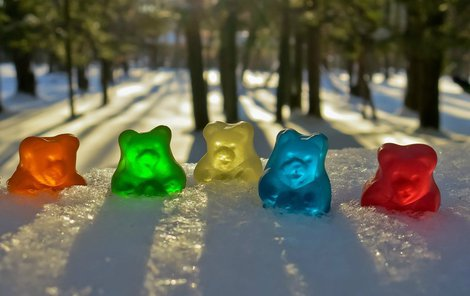 Dnes slaví gumový medvídci