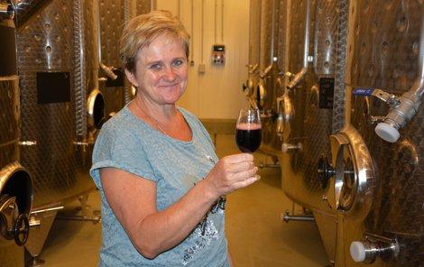 Liana Hrabálková se k vinařství musela propít.