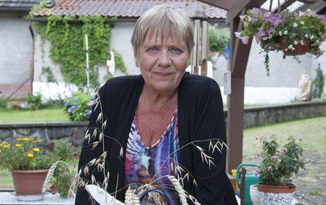 Obermaierová nejraději tráví volný čas na chalupě ve Zruči nad Sázavou.
