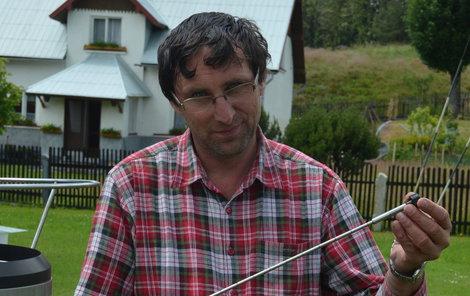 Rudolf Kovařík je oficiálním meteorologem od roku 1987.