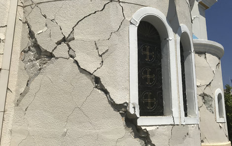 Řecký ostrov Kos postihlo silné zemětřesení