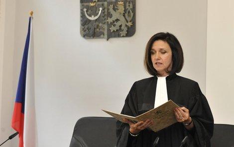 Soudkyně Kateřina Šimáčková