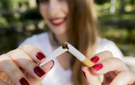 Radujte se z každé nevykouřené cigarety.
