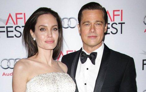 Brad Pitt a Jolie zase spolu.