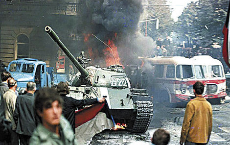 Srpen 1968 Invaze vojsk Varšavské smlouvy.