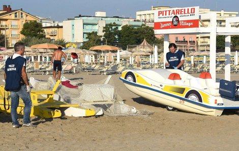 K napadení a znásilnění došlo na pláži v Rimini.
