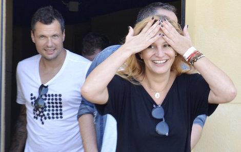 Monika Absolonová s Tomášem