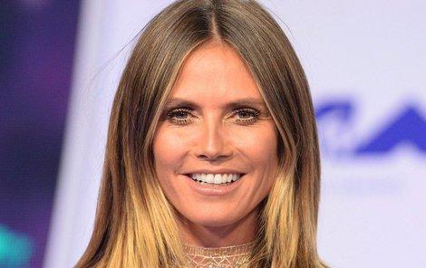 Dnes jde do prodeje kolekce navržená topmodelkou Heidi Klum (44)!