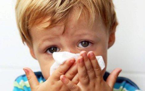 Nejčastěji skolí děti na začátku roku viróza.