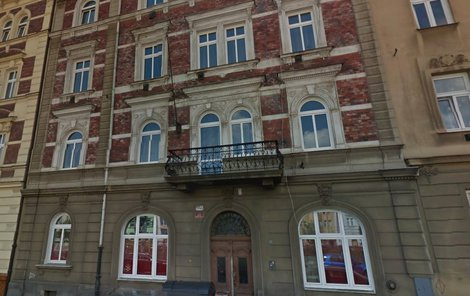 Dům v centru Plzně, kde se měl incident odehrát.