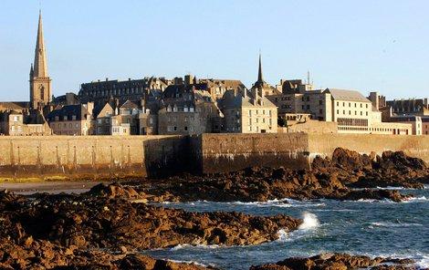 Saint Malo je městem korzárů a pirátů.