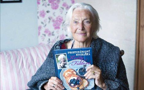Herečka napsala knihu receptů.
