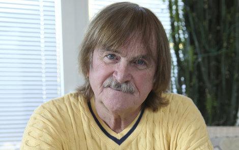 Hudebník Karel Vágner skončil v nemocnici.