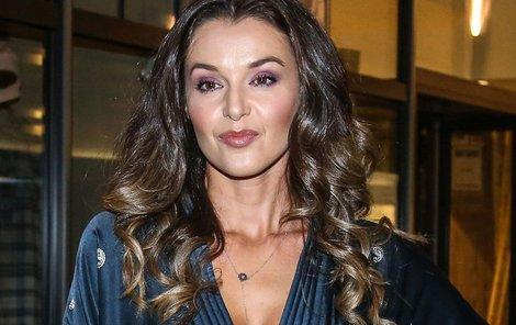Iva Kubelková si zahrála v seriálu.
