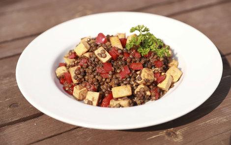 Šéfkuchař připravil zdravé, chutné a především rychlé jídlo.