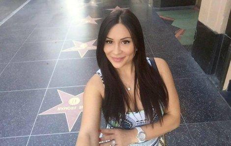 Krásná Jana doufala v hollywoodskou kariéru.
