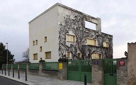 Müllerova vila dodnes patří k nejkrásnějším stavbám svého druhu u nás.