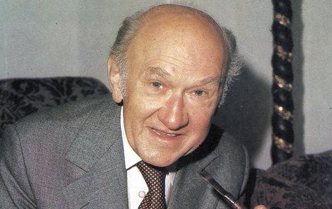 František Filipovský patřil k legendám českého divadla i filmu.