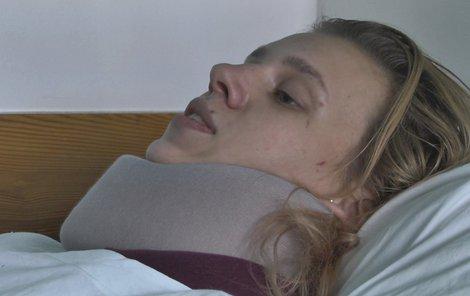 Dominika je v nemocnici, ale doufá, že bude brzy doma.
