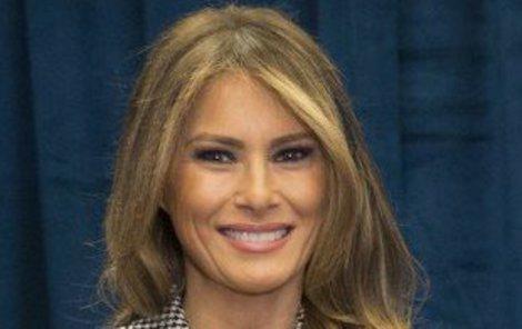 Melanie Trump má styl.