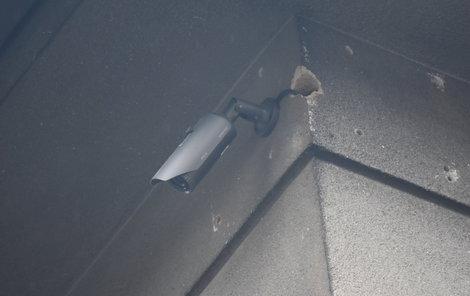 Kamerový systém ve Vimperku dokáže snímat obraz i zvuk na ulici.