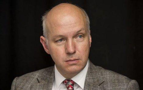 Prezidentský kandidát Pavel Fischer.