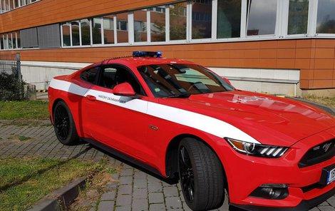 Mustang  pro hasiče...