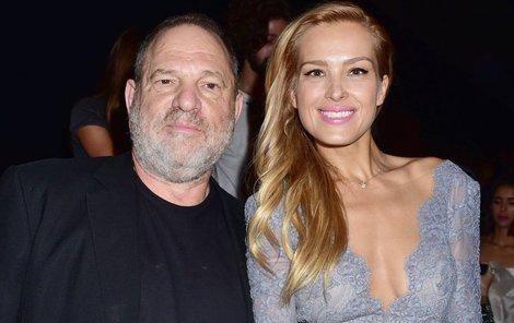 Weinstein s českou supermodelkou Petrou Němcovou