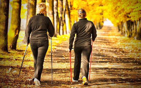 Chůze: To je nejlevnější a nejjednodušší pohyb, kterému se může věnovat skoro každý. I starší ročníky.