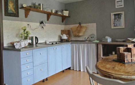 Renovovaná kuchyně
