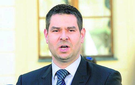 Ministr průmyslu Jiří Havlíček.