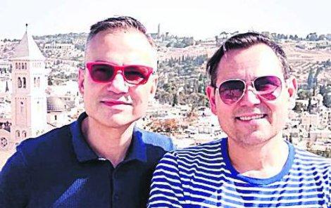 Pavel s Janisem zavítali i do Jeruzaléma.