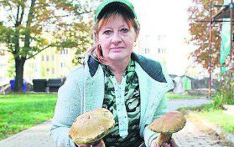 Dva plné koše našla Marie Číhalová s manželem.