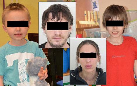 Rodiče Branislav S. a Anita L. a unesení kluci.