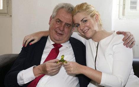 Prezident Zeman chce víc inženýrů, ale... Dcera ho neposlechla!