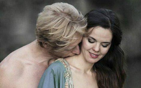 Karel Janeček s kněžkou lásky Lilian.