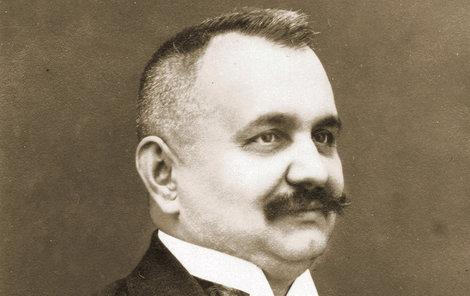 Policejní rada Josef Vaňásek.