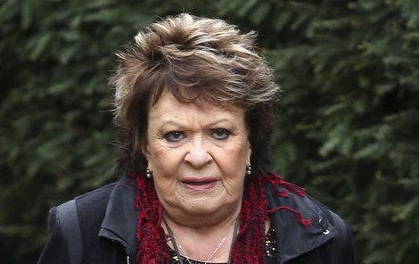 Jiřina Bohdalová byla výmluvou organizátorů šokovaná.