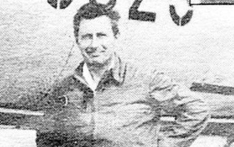 Josef Kadlec na začátku 80. let, kdy se stala nehoda.