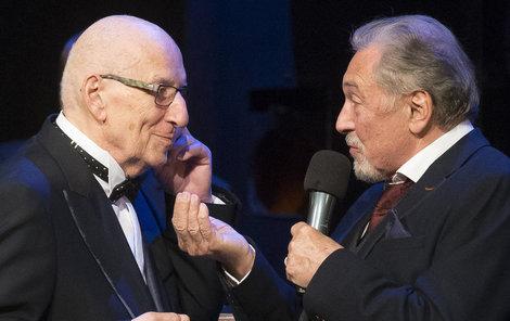 2017 V Divadle Hybernia měl Karel Štědrý koncert k osmdesátinám, Karel Gott mu zazpíval.